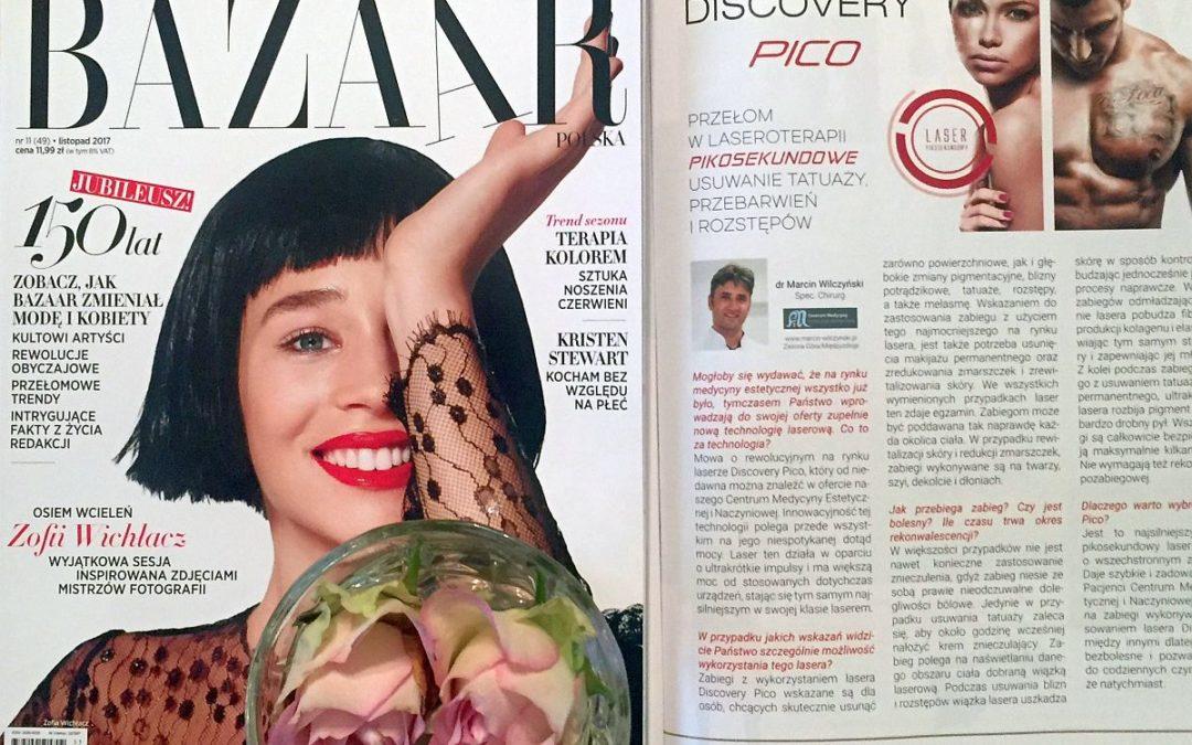 Przełom w laseroterapii. Pikosekundowe usuwanie tatuaży, przebarwień i rostępów